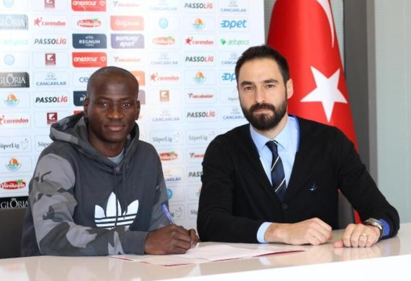 Delvin N'Dinga Antalyaspor'da