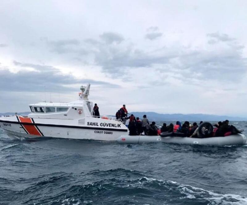 Çanakkale'de Ocak ayında 760 kaçak göçmen yakalandı