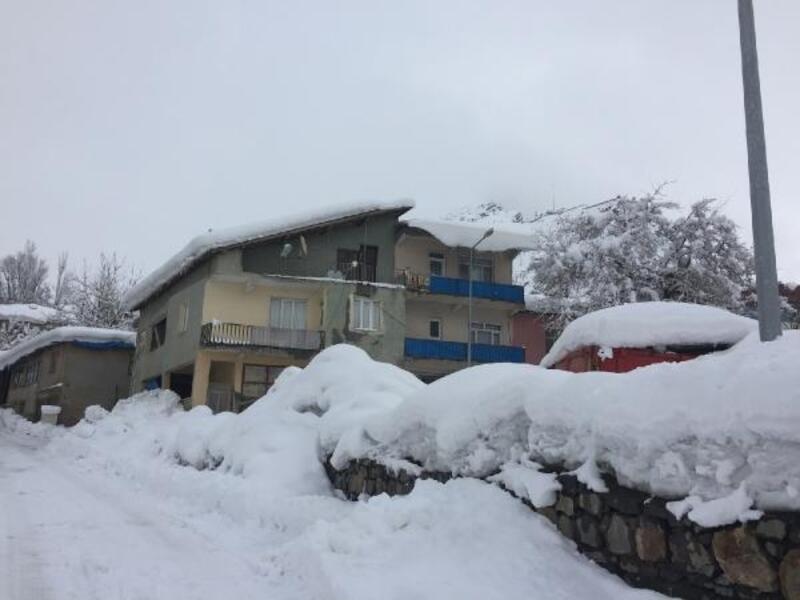Beytüşşebap'ta 15 köy yolu kardan kapandı