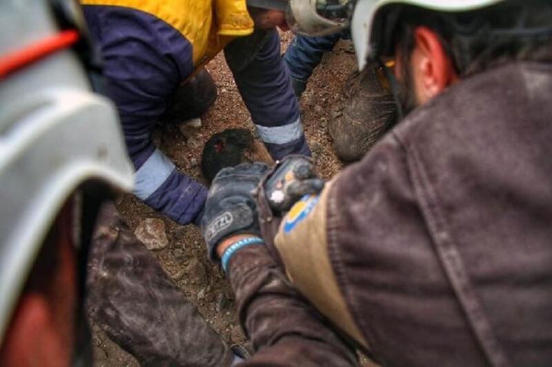 İdlib'e saldırılarda, Ocak ayında 188 kişi yaşamını yitirdi