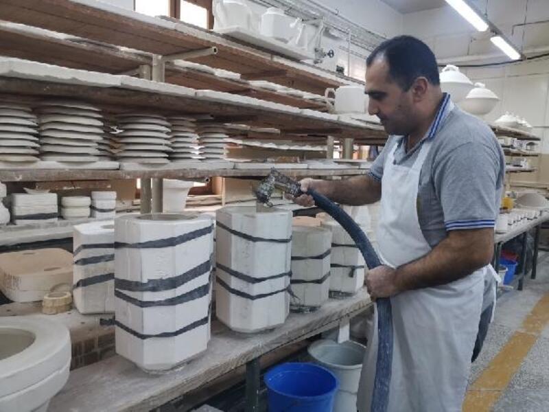 Milli Saraylar, porselen atıklarından yalıtım malzemesi üretti