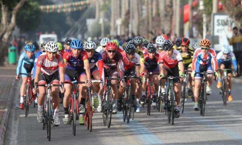 Alanya'da bisiklet heyecanı sürdü