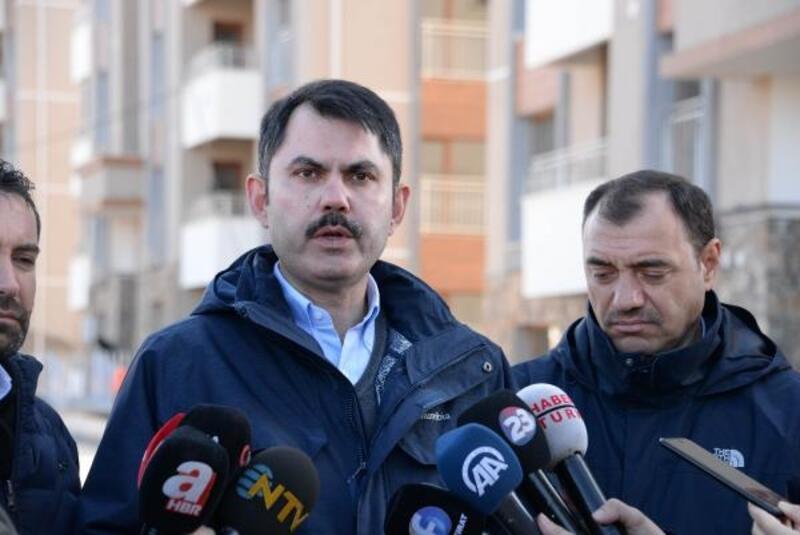 Bakan Kurum: Elazığ'da 71 binamızın yıkımını gerçekleştirdik