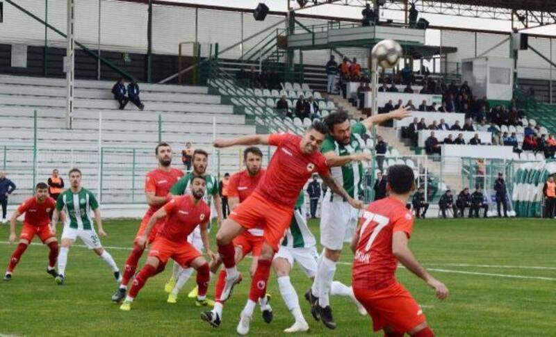 Serik Belediyespor - Çatalcaspor: 2-0