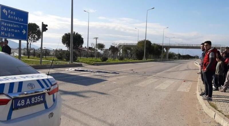 Fethiye'de trafik kazası: 1 ölü, 1 yaralı