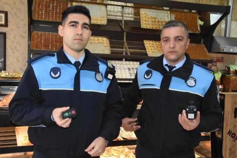 Zabıta denetimleri rüşvet ve darba karşı kameraya kaydediliyor