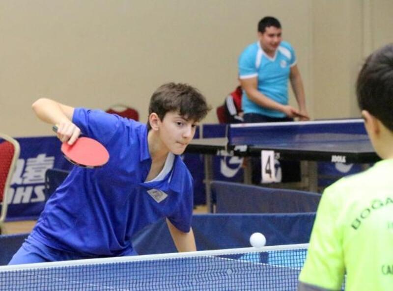 Yavuz Kocaömer 3'üncü Masa Tenisi Türkiye Şampiyonası başladı