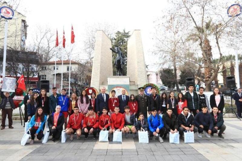 Atatürk'ün Denizli'ye gelişinin 89'ncu yılı kutlandı