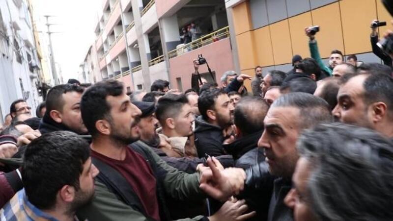 Eskişehir'de sendikacılar arasında arbede