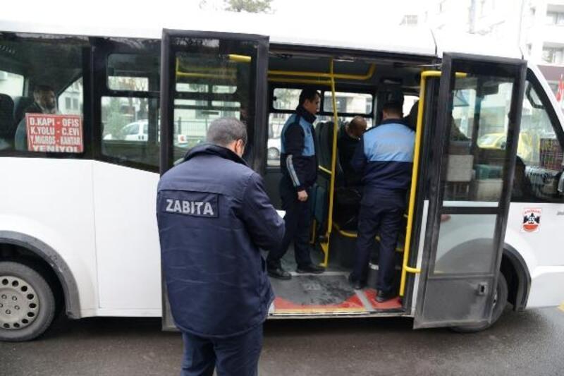 Diyarbakır'da toplu taşıma araçları denetlendi