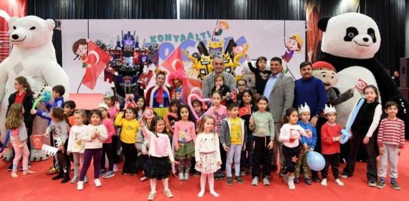 Konyaaltı Çocuk Festivali'ne 40 bin ziyaretçi