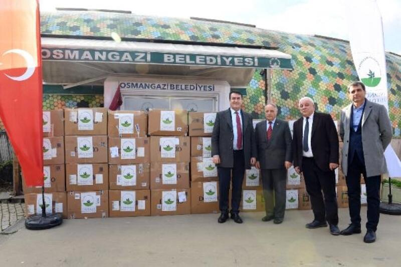 Depremzedeler için yardım malzemesi gönderildi