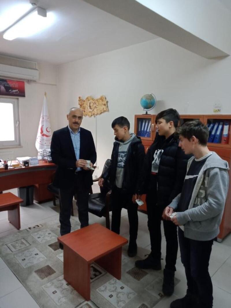 Trabzon Çocuk Evleri'ndeki çocuklardan, Elazığ'a yardım