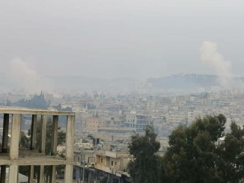 MSB: PKK/YPG Afrin'de okul ve camiye füze attı