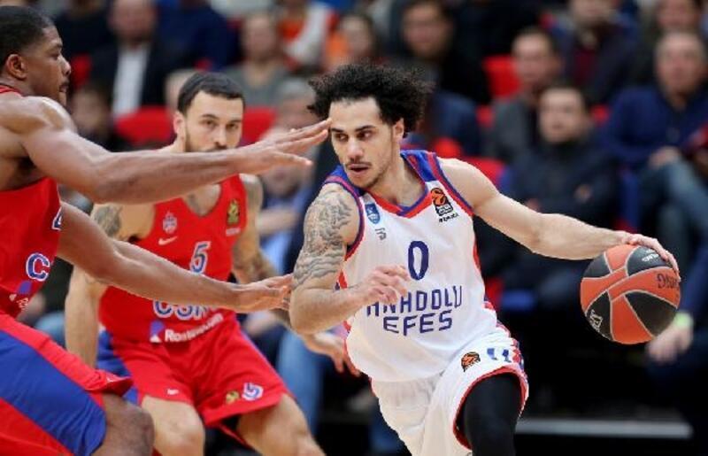 CSKA Moskova - Anadolu Efes: 80-82