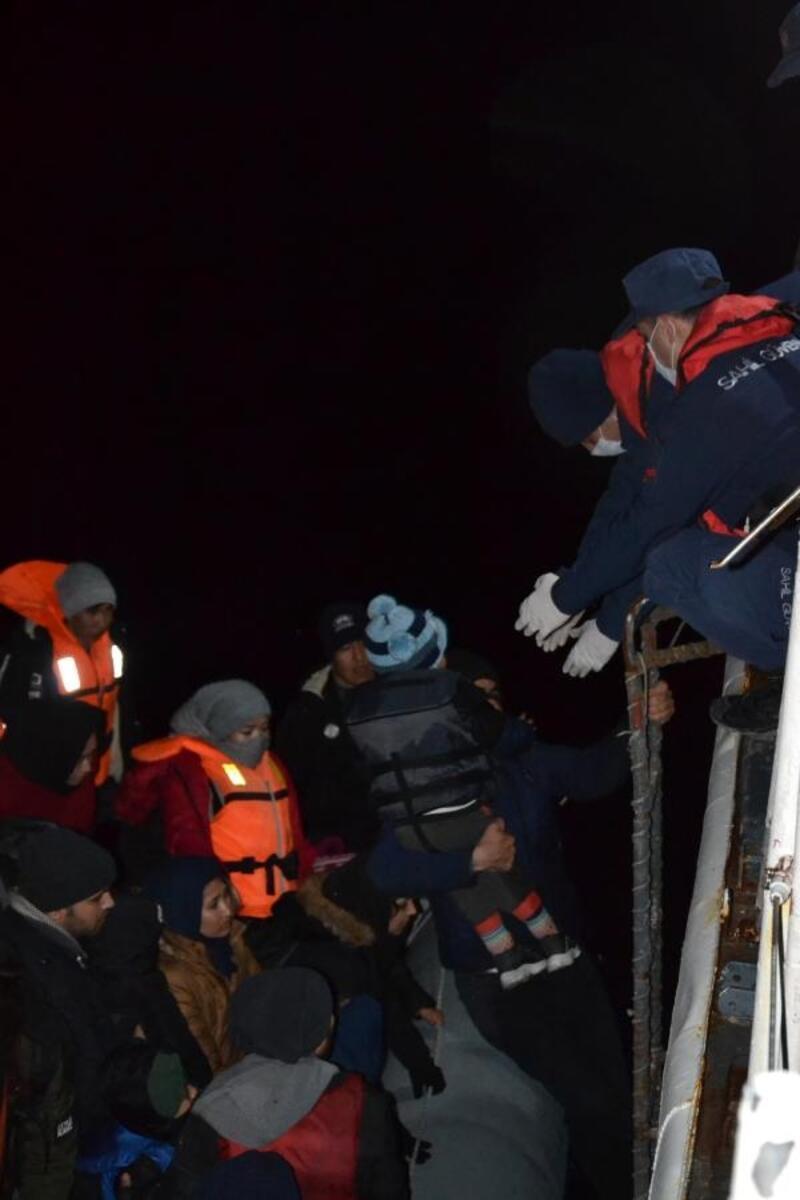 Çanakkale'de 67kaçak göçmen yakalandı