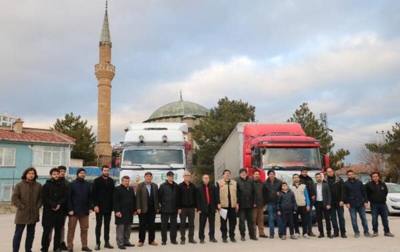 Afyonkarahisar'dan İdlib'e yardım