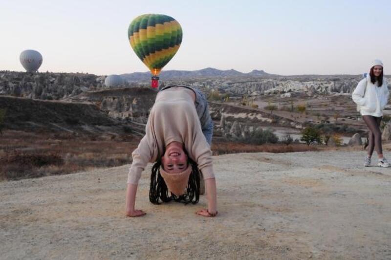 Kapadokya'da son 11 yılın turist rekoru