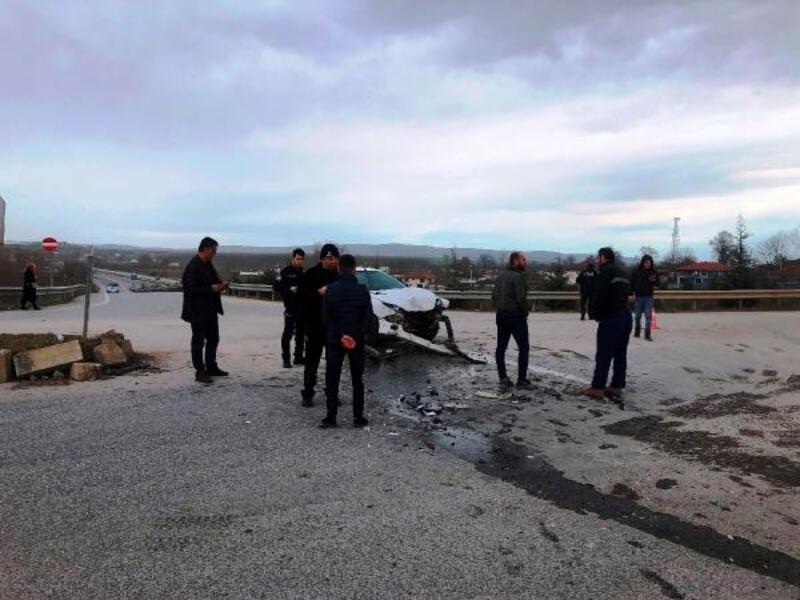 Terhis oldu, dönüş yolunda kaza yaptı: 6 yaralı