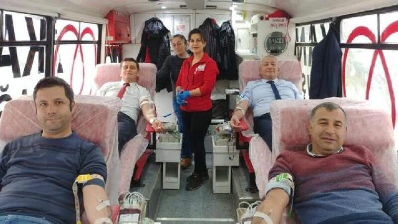 Yalova İl Tarım Müdürlüğü'nden Kızılay'a kan bağışı