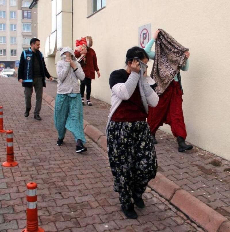 Kayseri'de ziynet eşyası hırsızlığında 4 kişi adliyede