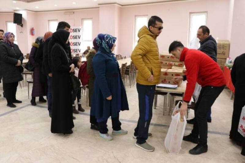 LÖSEV'den Niğde'deki hasta ve ailelerine  yardım