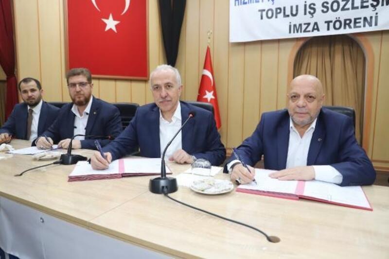 Akdeniz Belediyesi'nde, işçi ücretlerine yüzde 10 zam