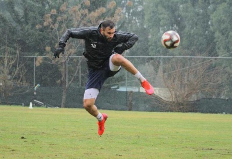 Hatayspor'da Fatih Karagümrük maçı hazırlıkları tamamlandı