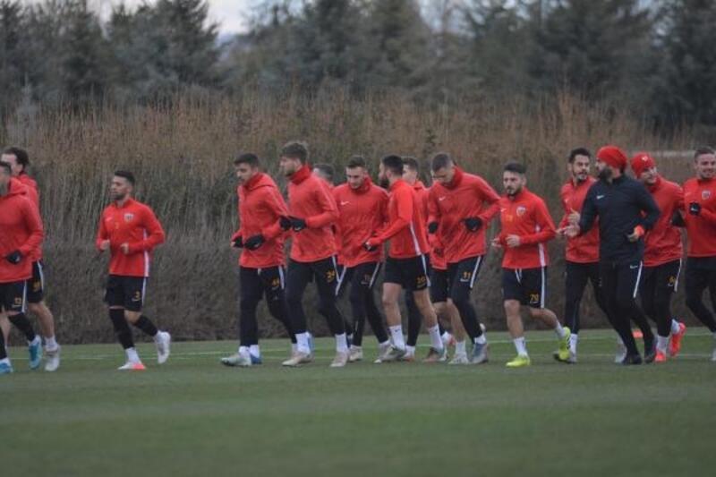 Hes Kablo Kayserispor, Antalyaspor maçı hazırlıklarını sürdürdü