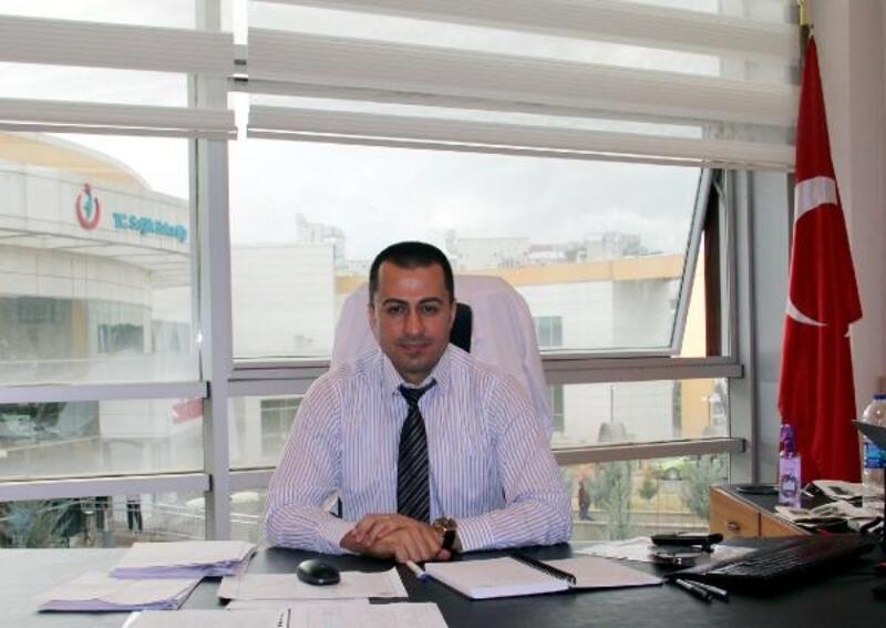 Dinar'da Başhekim Çelik göreve başladı