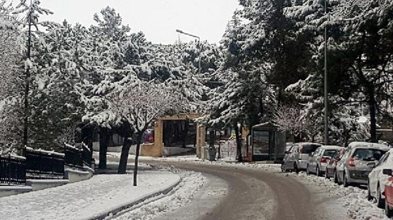 Demirci'de eğitime kar tatili