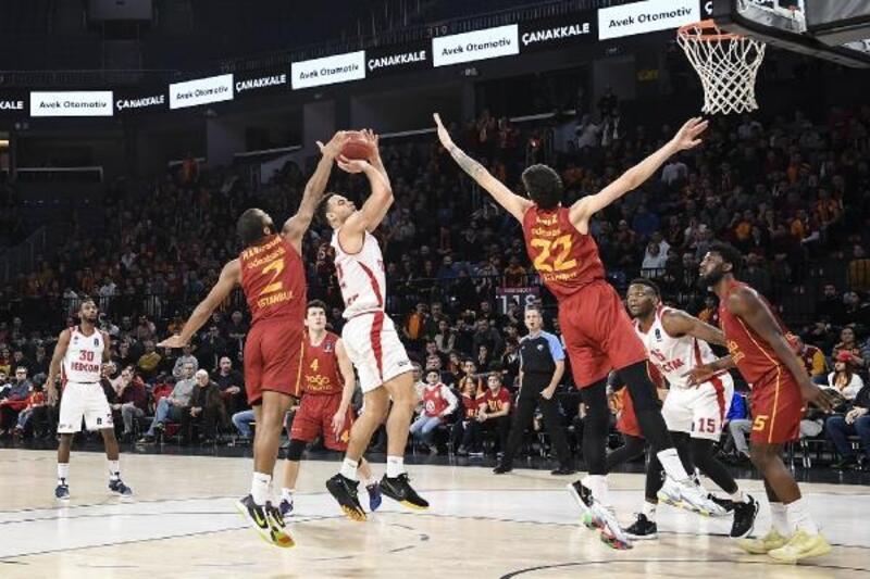 Galatasaray Doğa Sigorta - Monaco: 79-91