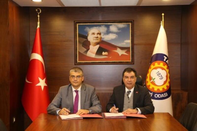 Tarsus Üniversitesi ve TSO arasında protokol