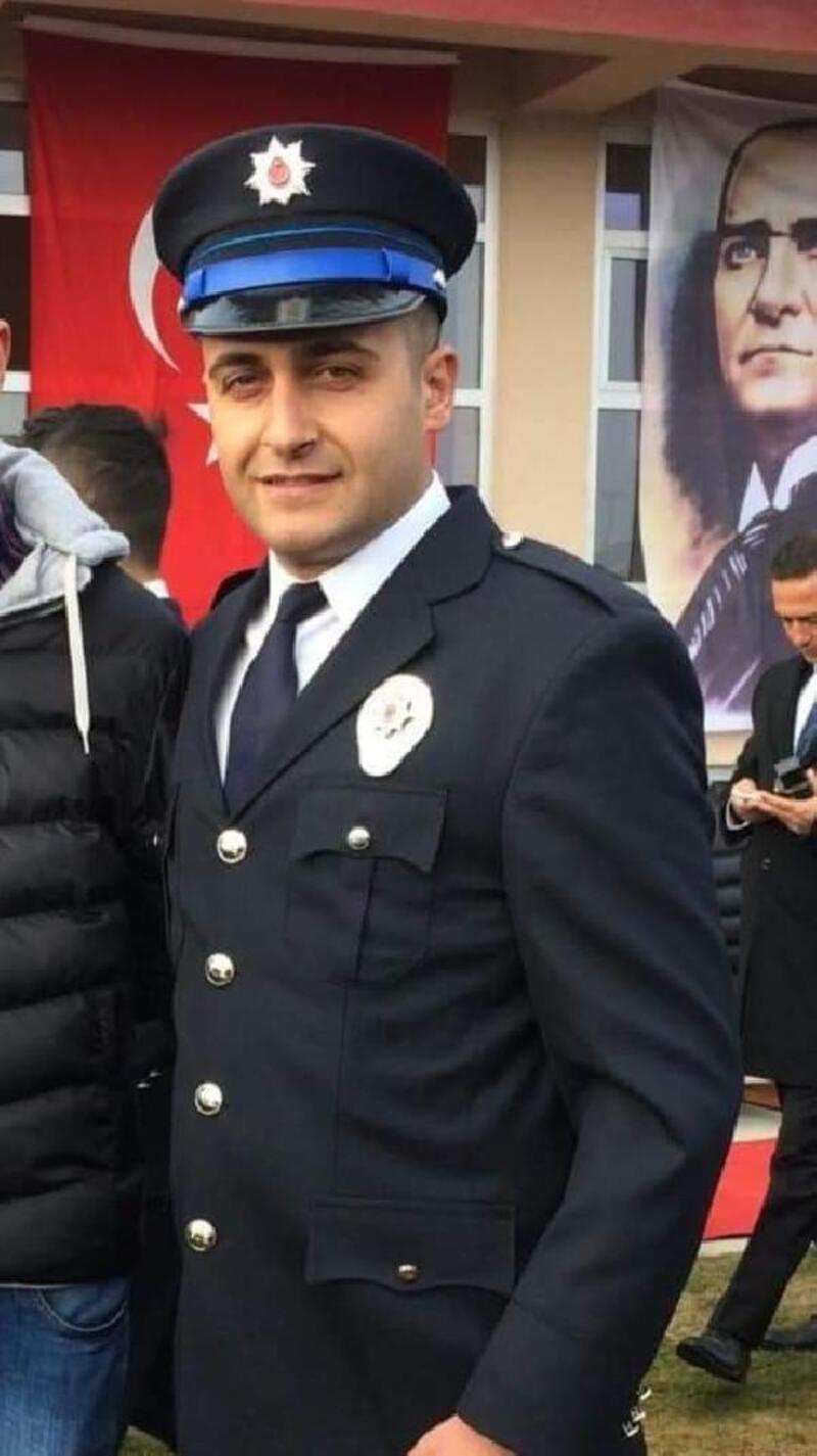 Lenf kanserinden yaşamını yitiren polis, toprağa verildi