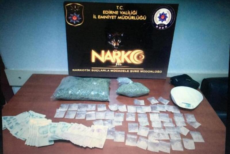 Edirne'deki uyuşturucu operasyonunda 2 tutuklama