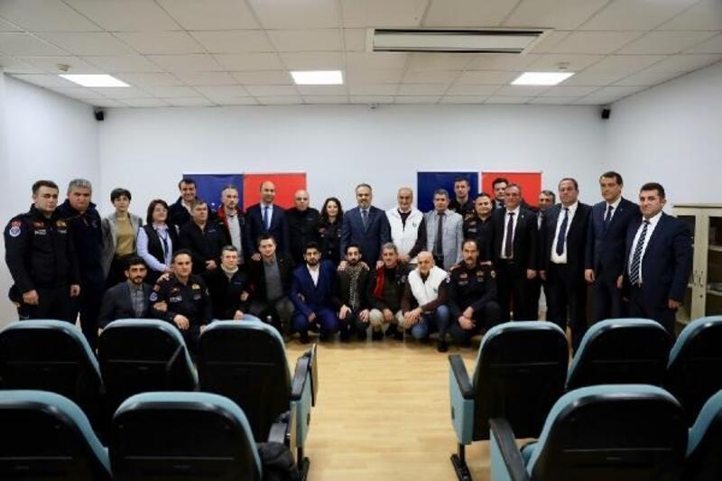 Başkan Aktaş, Büyükşehir'in deprem timine teşekkür etti