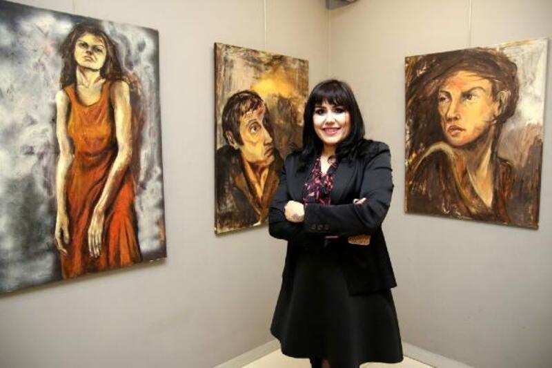 Meral Laletaş'ın eserlerine büyük ilgi