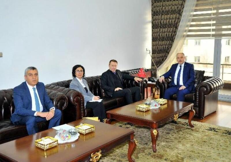 Büyükelçisi Marc Innes-Brown'dan, Vali Coşkun'a ziyaret
