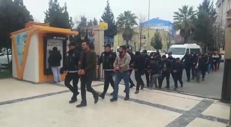 Şanlıurfa'da 'torbacı' operasyonu: 10 tutuklama