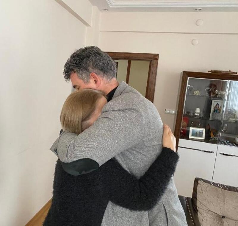 Feyzioğlu'ndan Ceren Özdemir'in ailesine ziyaret