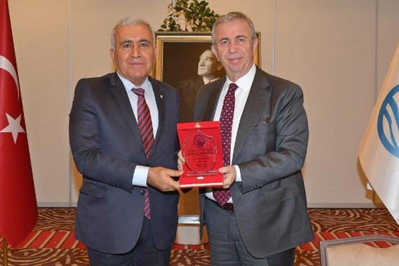 ASKİ Genel Müdürü Kınacı, ASKİ'ye veda etti