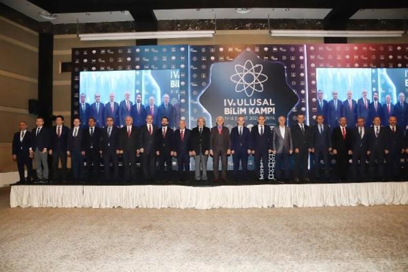 Konya'da 4'üncü Ulusal Bilim kampı başladı