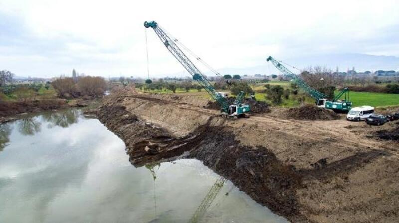 DSİ o nehir yatağındaki çalışmaları 1 yıl dolmadan tamamladı