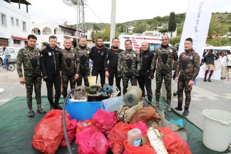 Bodrum Belediyesi, tonlarca atığın geri dönüşümünü sağladı