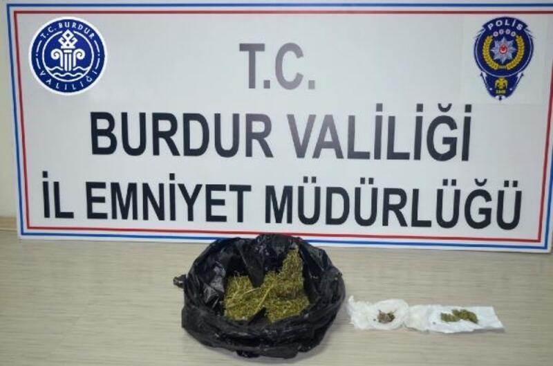 Burdur'da uyuşturucuya 1 tutuklama