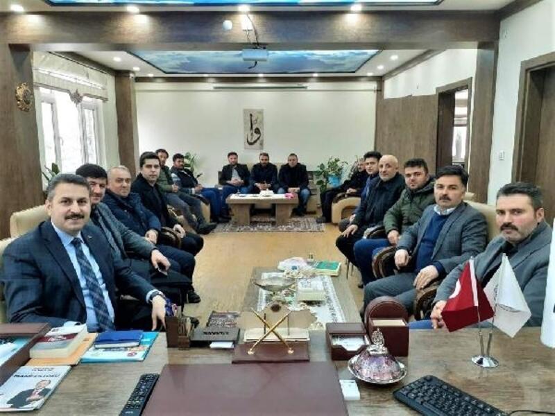 Başkan Eroğlu, Sulusaray'da incelemelerde bulundu