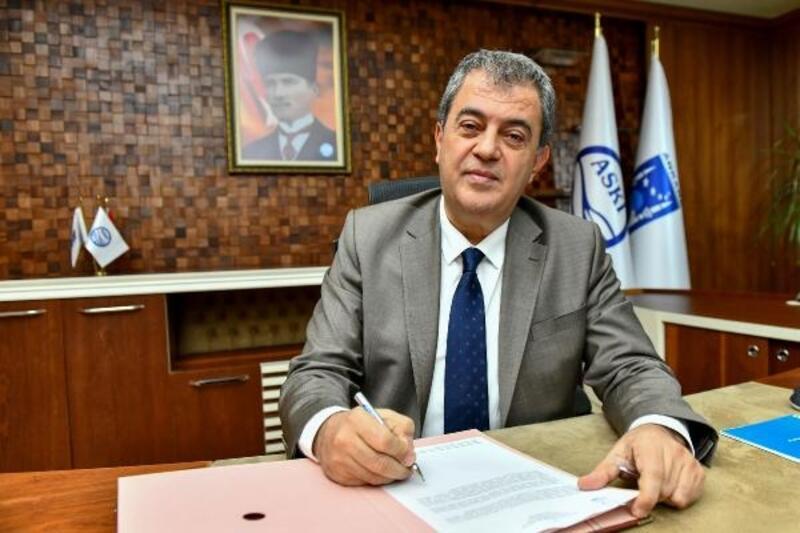 ASKİ Genel Müdürü Erdoğan Öztürk oldu