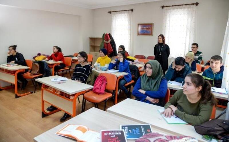 Altındağ'da engelliler bireyler için KPSS kursu başladı