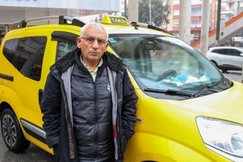Terminalde taksi kaosu