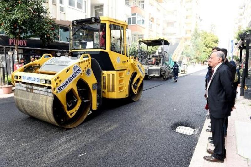 Seyhan'da yolların kalitesi artıyor
